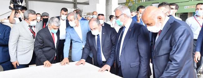 Lice'de D Mermer Fabrikasının Açılışı Yapıldı (25.09.2020)