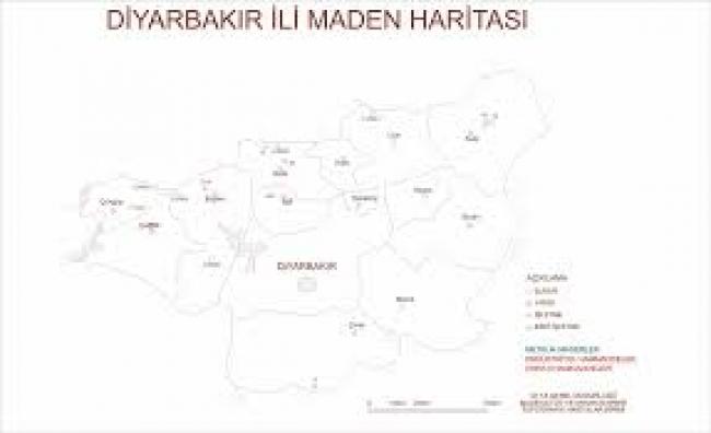 Diyarbakır Maden Haritası